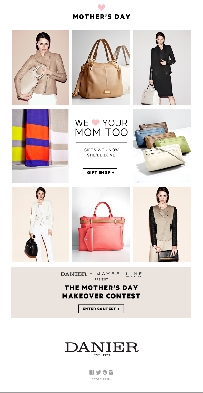 Mothers Day Email