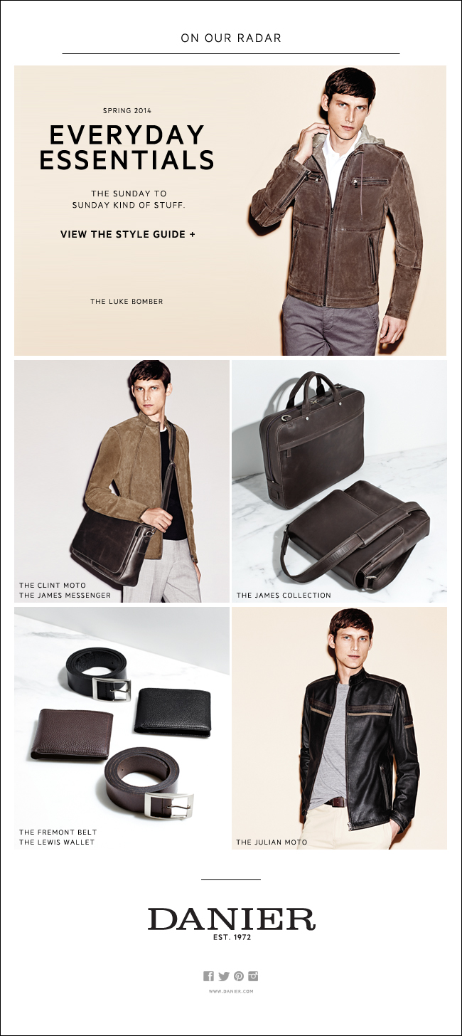 Men's Essentials E-mail