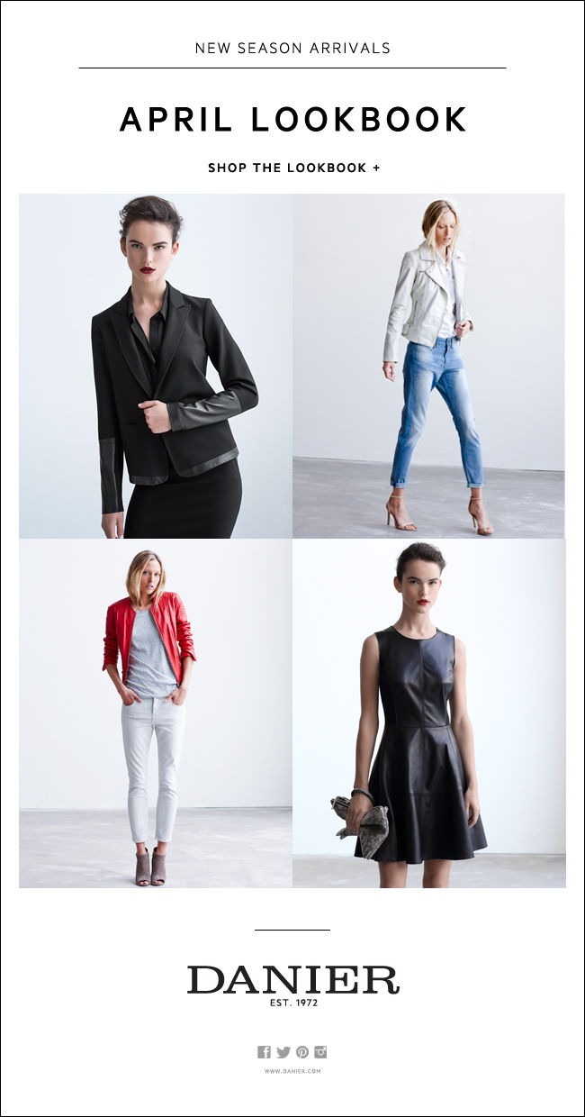 Women's April Lookbook E-mail