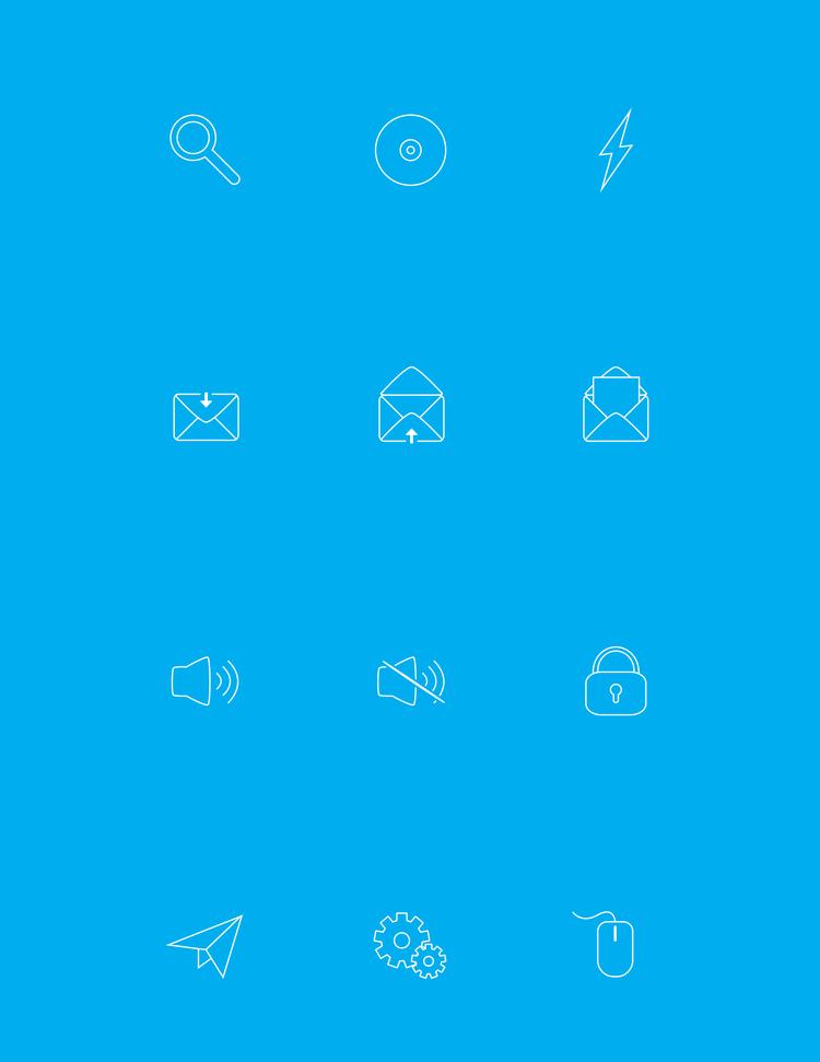 Icon Design - Set 1