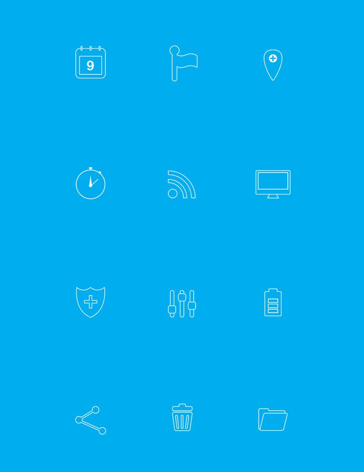 Icon Design - Set 2