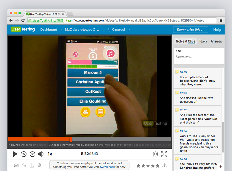 Usertesting.com is my go-to tool for concept testings and usability of an app.