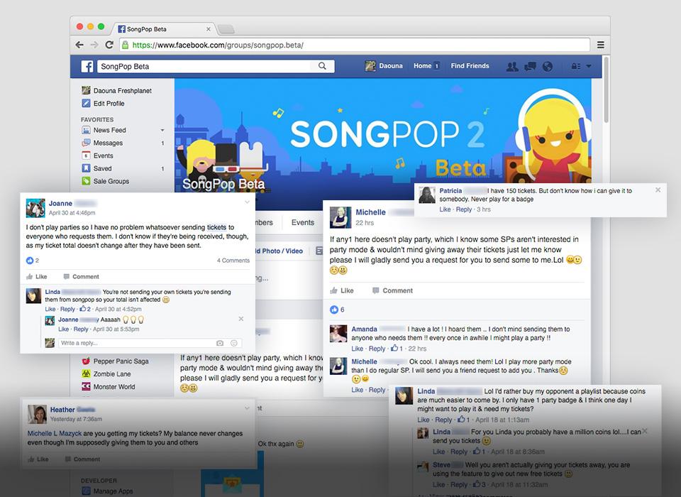 SongPop Beta User Group