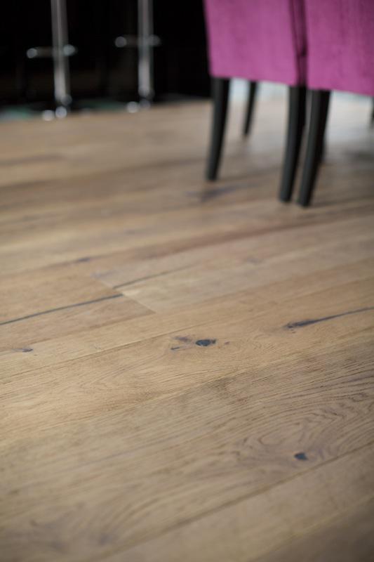 European White Oak wide plank flooring