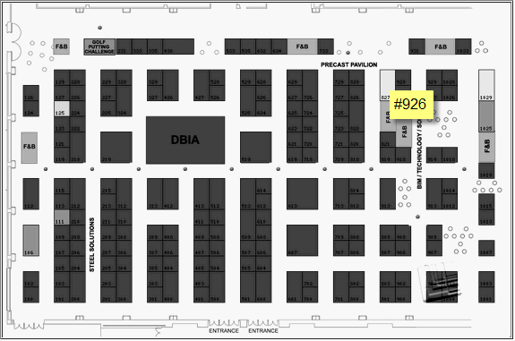 vPlanner Booth#926 Location