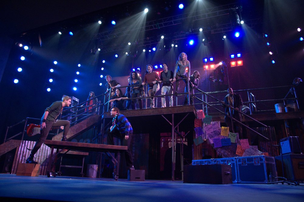RENT  Scenic Design Gallery
