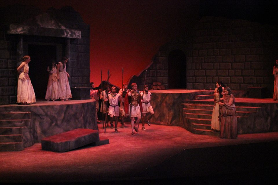 The Women of Troy  Scenic Design Gallery