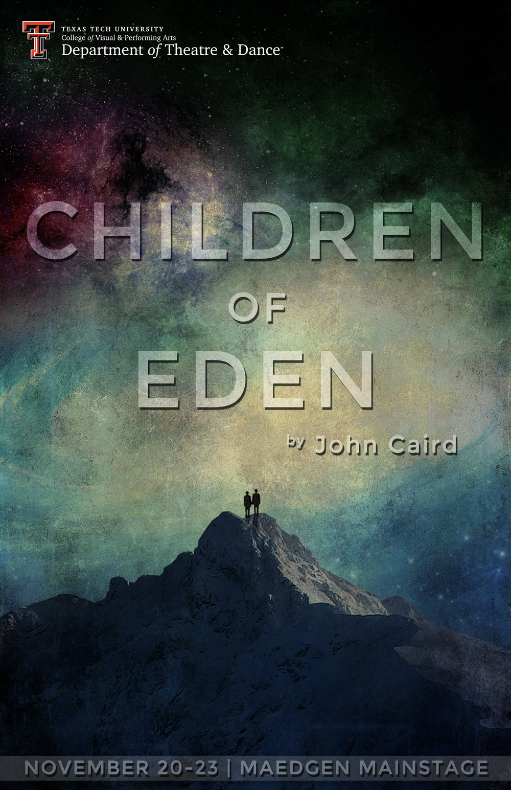 Children of Eden  - Production Poster