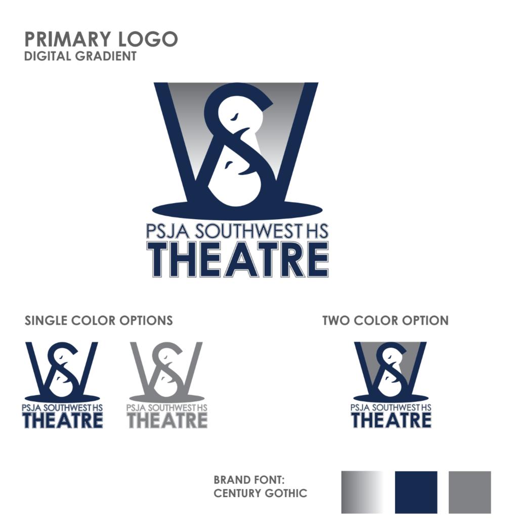 PSJA Theatre Logo