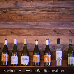 Bankers Hill Wine Bar Renovation