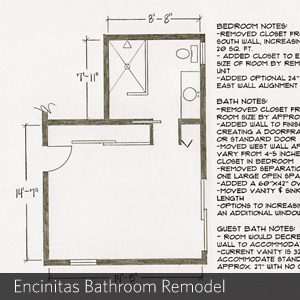 Encinitas Bathroom Remodel