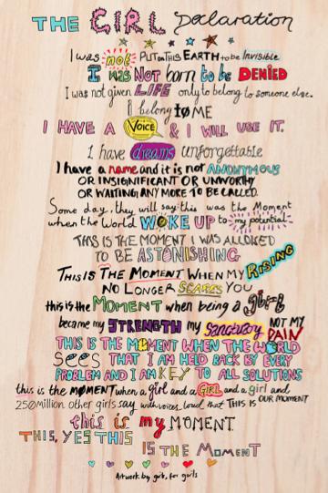 The Girl Declaration