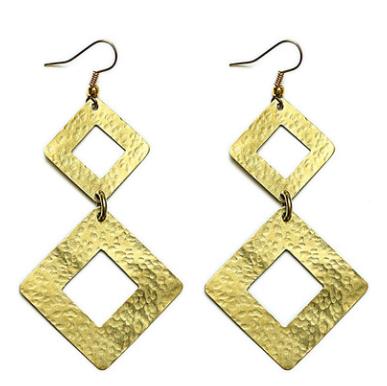 Almasi Brass Earrings | Soko | $30.00