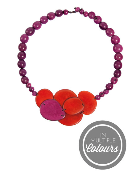 Isabela Tagua Necklace | Dignify | $46.00