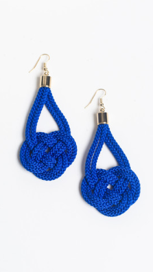 Carpe Diem Cobalt Earrings | Knotty Gal | $65.00