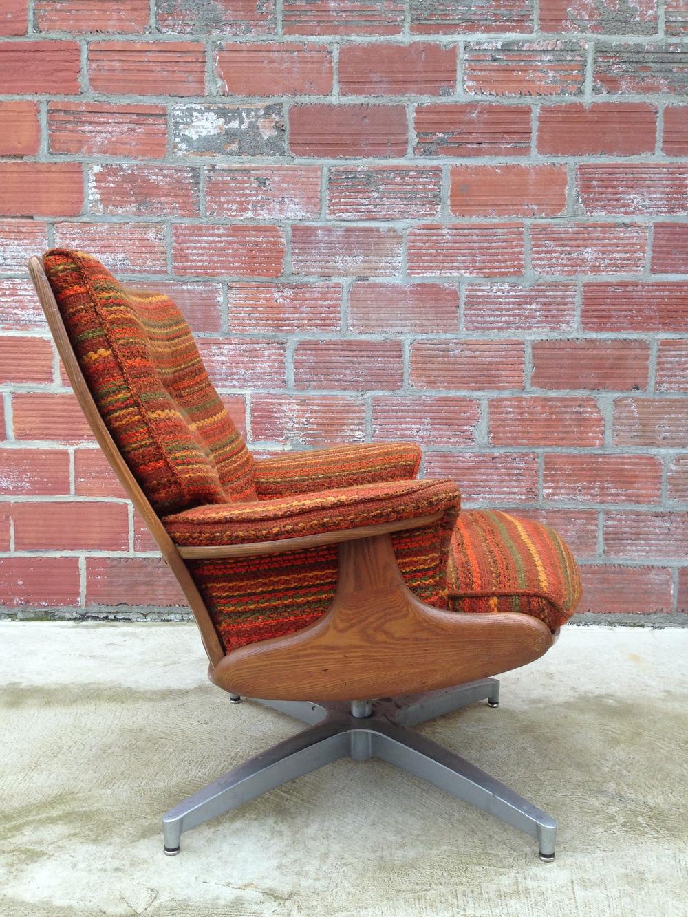 Heywood-Wakefield Lounge Chair & Heywood-Wakefield Lounge Chair u2014 Oak Street Vintage