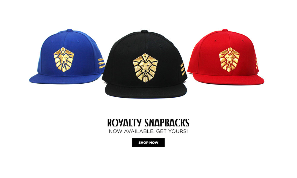 Royalty Snapbacks