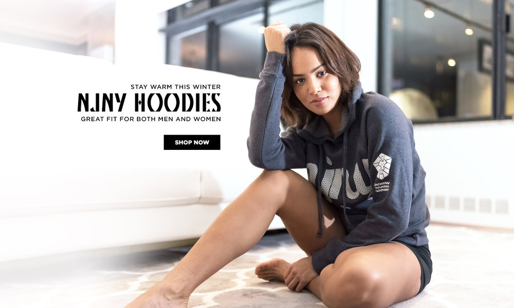 Stay warm this winter with our NJNY Hoodies