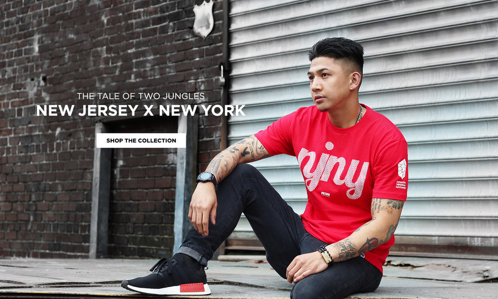 The tale of two jungles: NEW JERSEY x NEW YORK