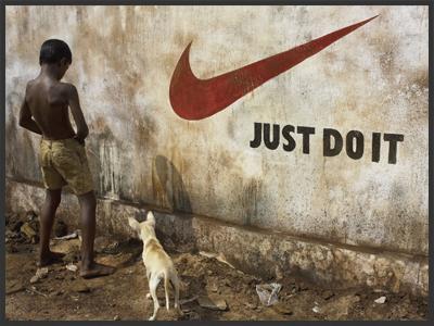 African irony