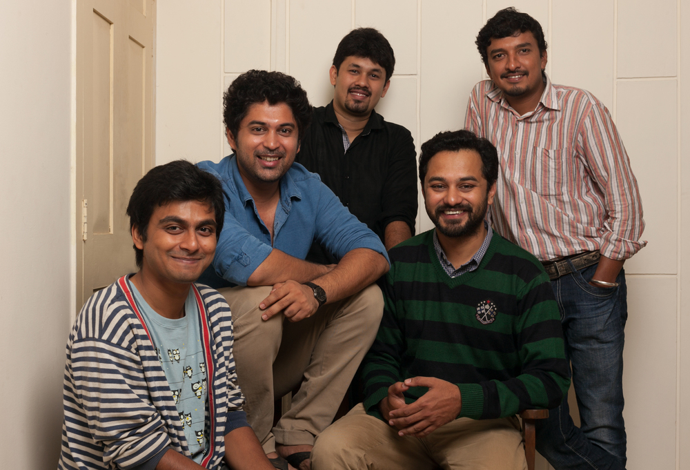 From Left - Right : Bharat Mirle, Aravind Iyer, Alan Aranha, Sudhanva Atri & Lokesh BS
