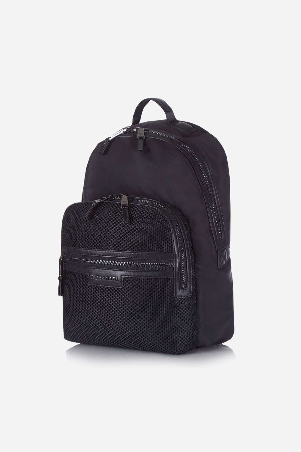 4b882fbf97 T+M x Selfridges Elwood Backpack Black Mesh — Tiba + Marl