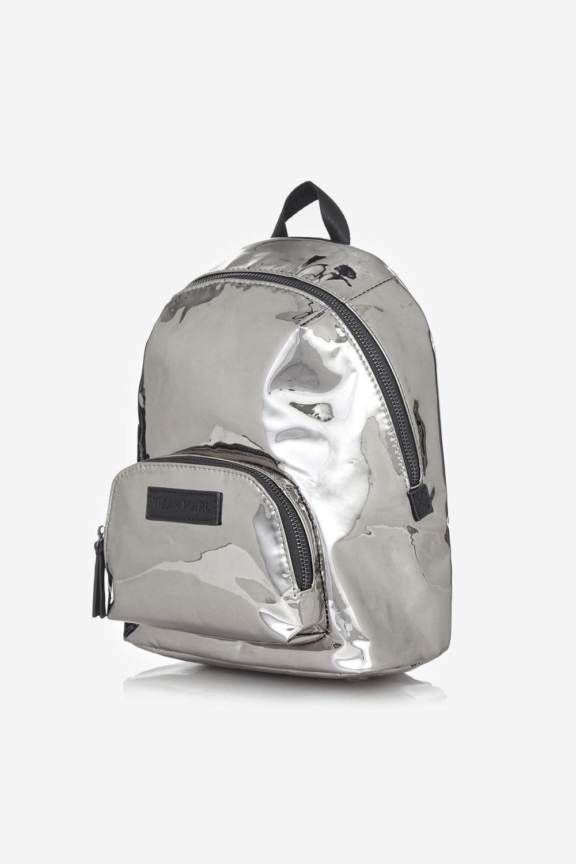 4600ec6866 Mini Elwood Kids Backpack Mirror Metallic — Tiba + Marl