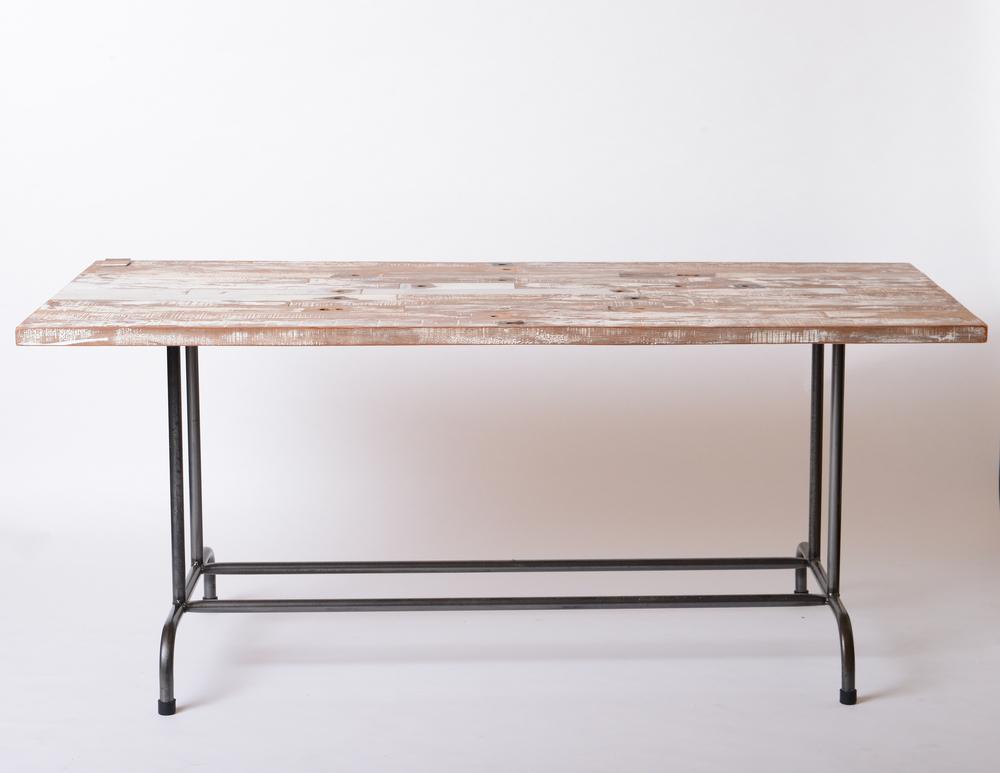 TF-I-02 Laval dining table (BLACK)栂木/台灣檜木  Size:L150~300xW80~90xH75cm  NT 26,000起(未稅,運費另計)