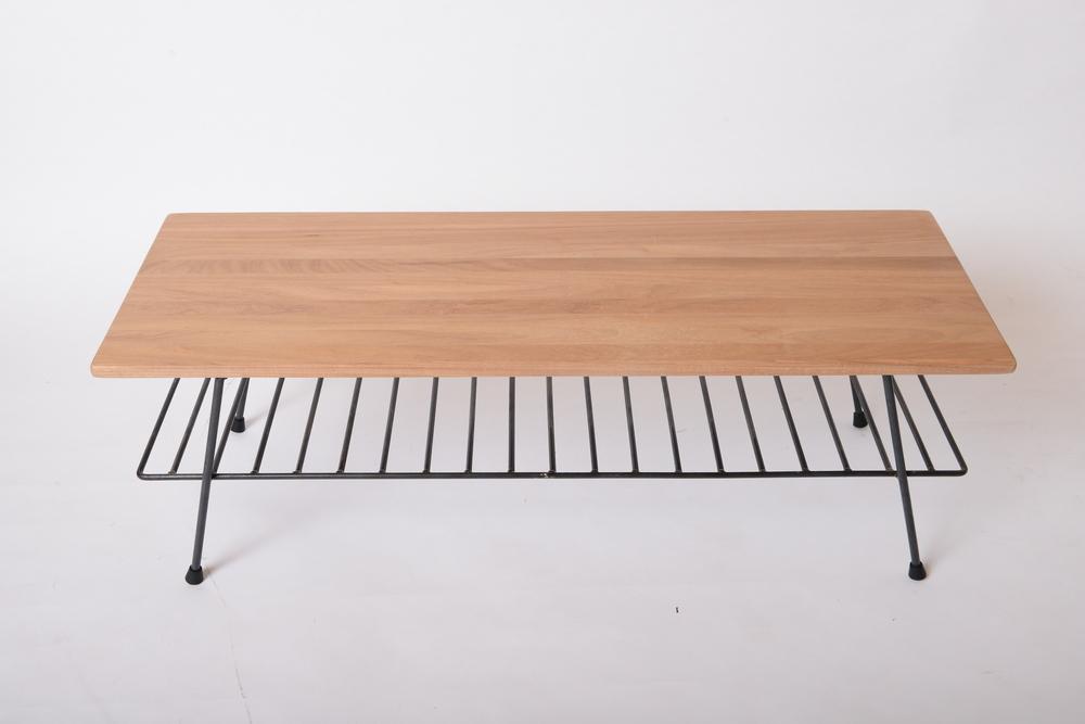 TF-I-12 Sens coffee/tv table  栂木/南美柚木 NT 7,500