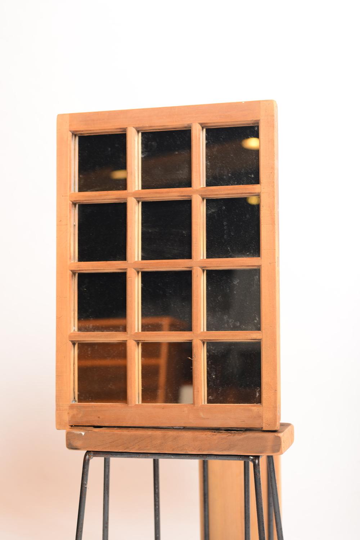 台灣檜木 12格鏡子 NT 2,800