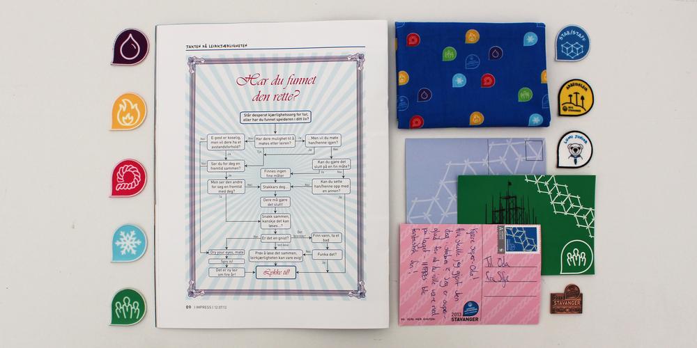 Design: Oda Sortland (me) . (Card design: Patrick Jepsen)