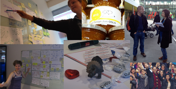 "The fun of making the service ""your neighbor knows"" and participate at The Global Service Jam Oslo."