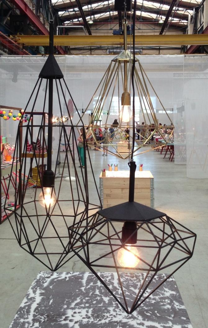 De Diamonds van studio JSPR schitterden op de tweede editie van showUP. Ze zijn ontworpen door Sylvie Meuffels.