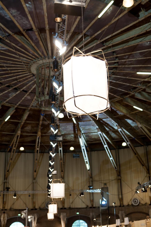 De lampen van Ay illuminate, favoriet van vele internationale woonbloggers en te zien op showUP in de Gashouder, dank VANMOKUM!