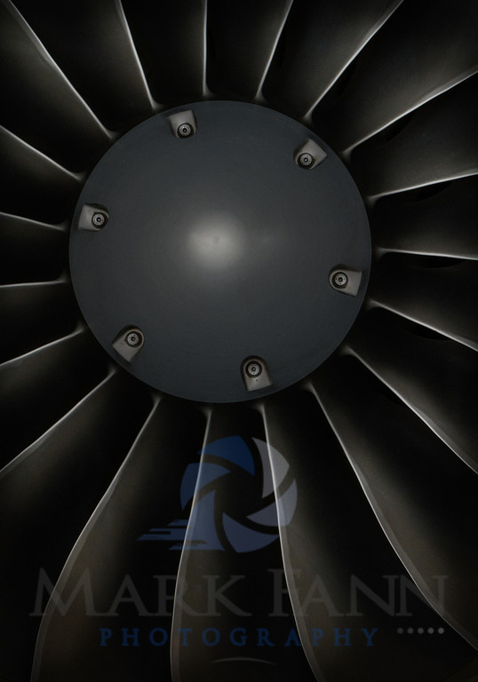 A Citation Pratt and Whitney Jet Engine Photo