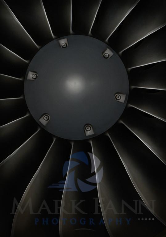 A Citation Pratt and Whitney Jet Engine Photo