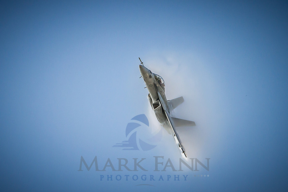 F-18 Hornet Shockwave Photo