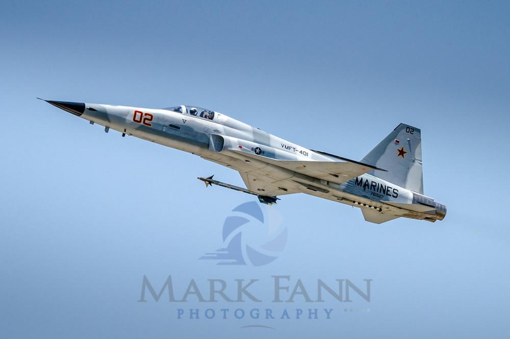A U.S. Marine Corps F-5N Aggressor Squadron Photo