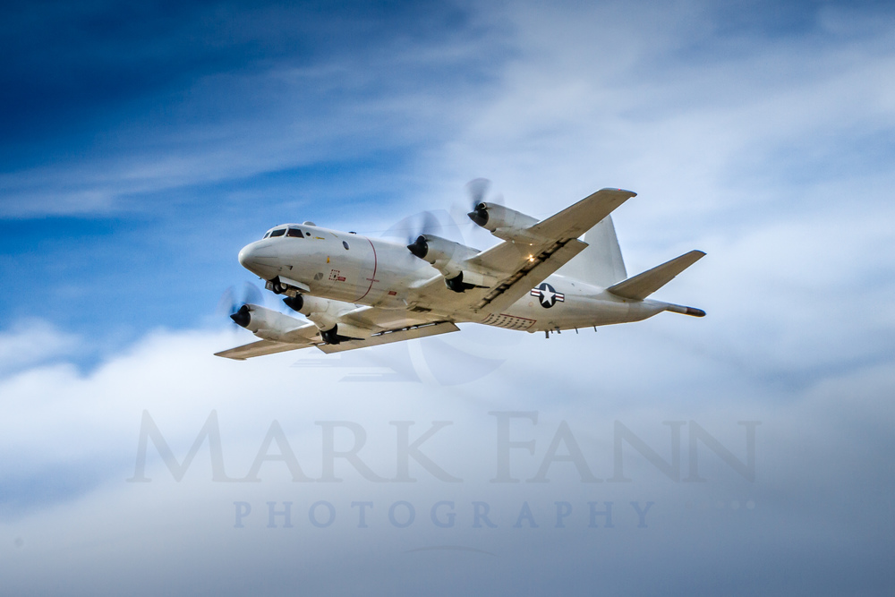 United States Navy P-3 Orion Take-off