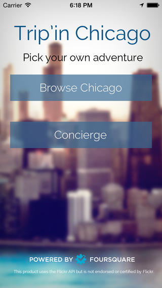 Tourists and Chicago noobs can ask Trip'in Chicago's concierge to recommend a walking tour to get to know local attractions.