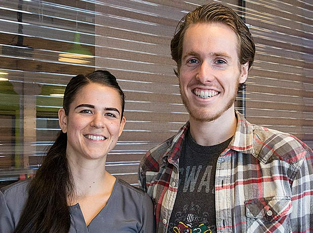 Even before completing the Mobile Makers iOS Bootcamp, students Naomi Himley and Ben Hallock were part of the winning team at Startup Weekend Chicago, June 20–22.