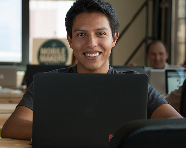 Mobile Makers alum Antonio Grimaldo built the Cuby app as a side project