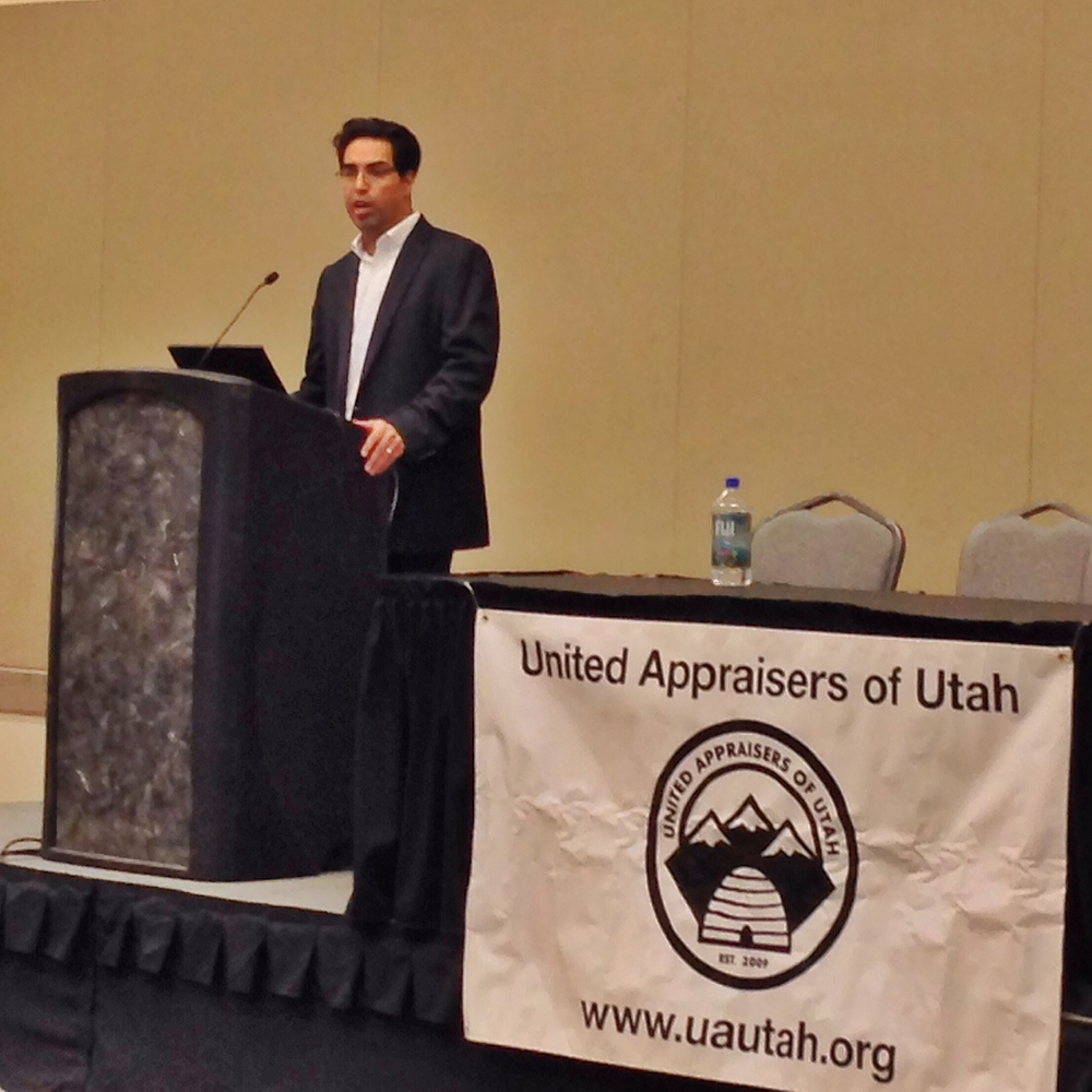 Ed Martinez of Marshall & Swift taught a tremendous course on the Cost Approach during the UAU sponsored and organized Utah Valuation Expo.