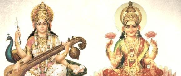 Sarswati & Laxmi