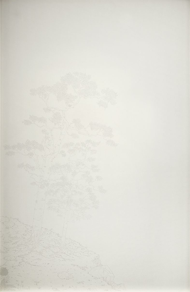 Before , 2015   Graphite on Paper   44 5/8 x 28 1/4 in.