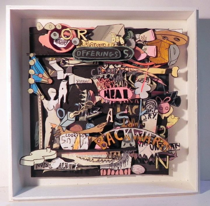 You Or Broken Offerings, 2011 [private collection NJ, USA] Mixed Media 8 5/8 x 8 5/8 in