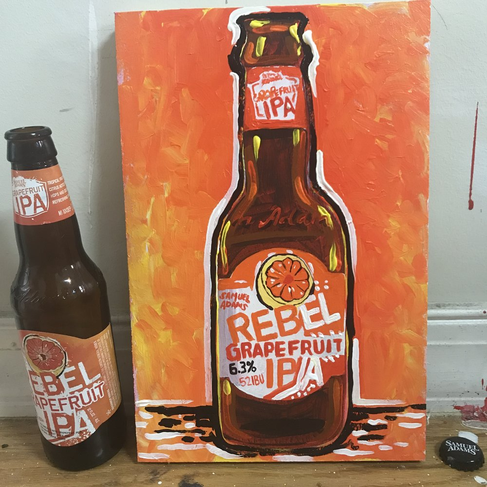 49 Samuel Adams Rebel Grapefruit IPA (USA)