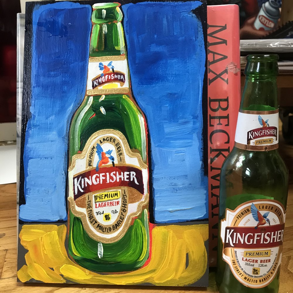 32 Kingfisher Premium Lager Beer (India)