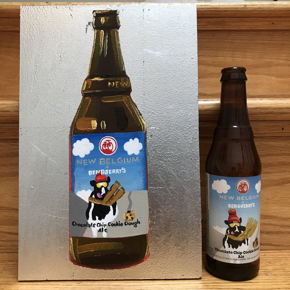 8 New Belgium Chocolate Chip Cookie Dough Ale (Ben & Jerry's Collaboration) (USA)