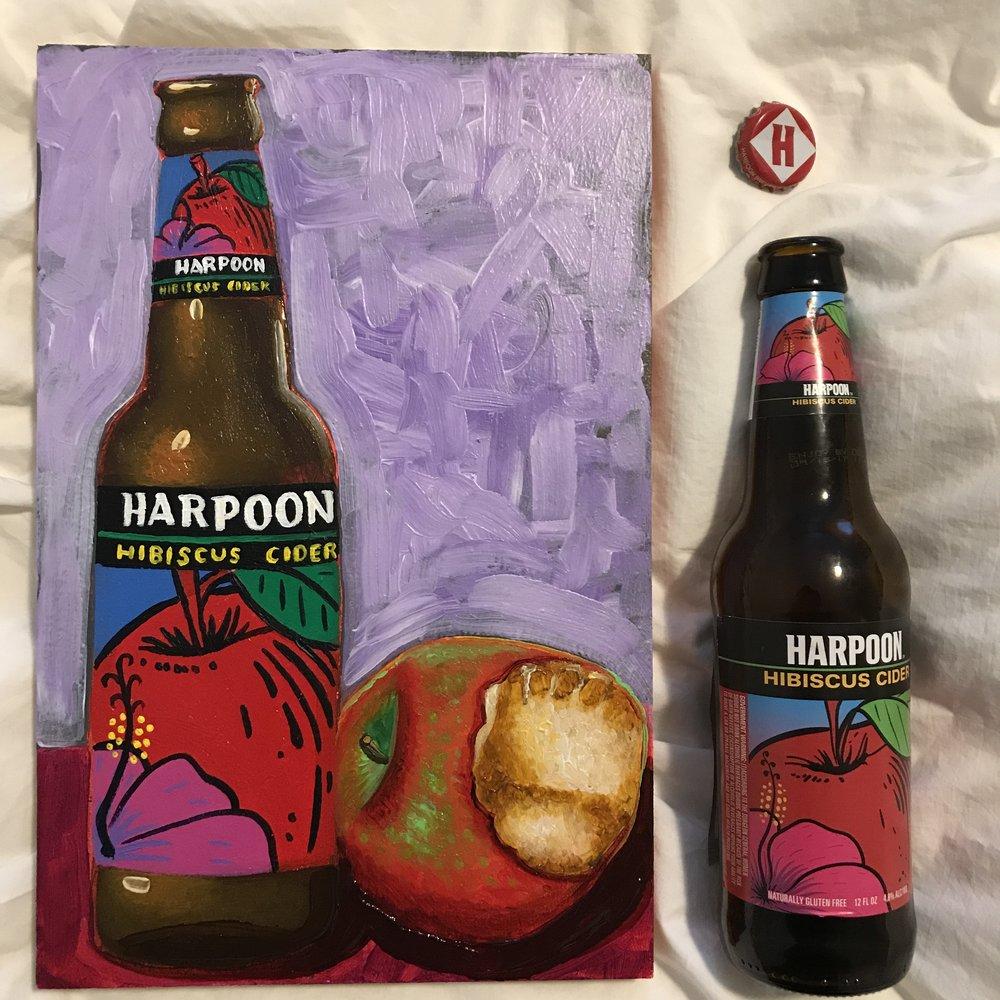 7 Harpoon Hibiscus Cider (USA)